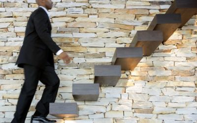 Is building your business like climbing stairs?